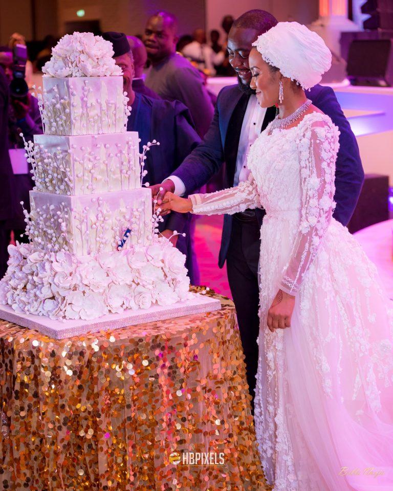 Photos: Bill Gates, Nana Addo attend Dangote's daughter's grand white wedding