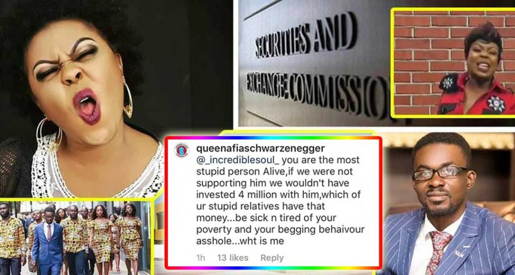 Afia Schwarzenegger blast NAM1 over mother's GHC4m Menzgold investment.