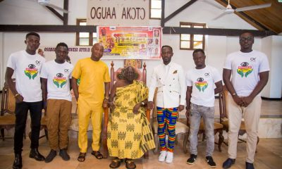 Okyeame Kwame launches latest single 'Made in Ghana' feat. Kidi in Cape Coast