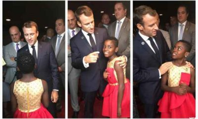 DJ Switch hangs with Emmanuel Macron, Melinda Gates, Naomi Campbell at Goalkeepers 2018