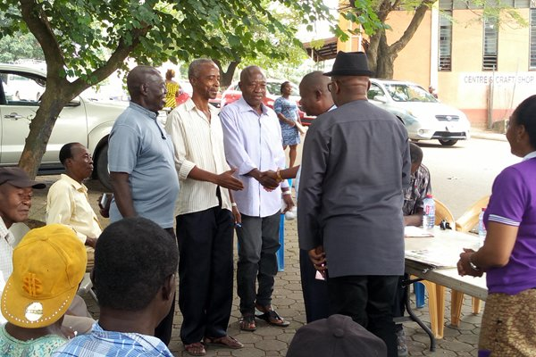 Ageing Musicians in Kumasi receives support from MUSIGA