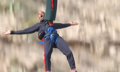 Will Smith bungee jumping