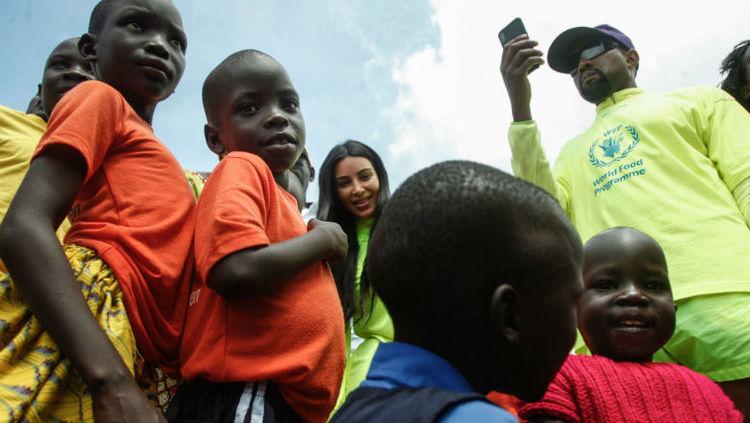 #WhatsTheWordWithTedJones: Kanye In Uganda, #BoycottTI, Ariana and Pete $100K Engagement Split
