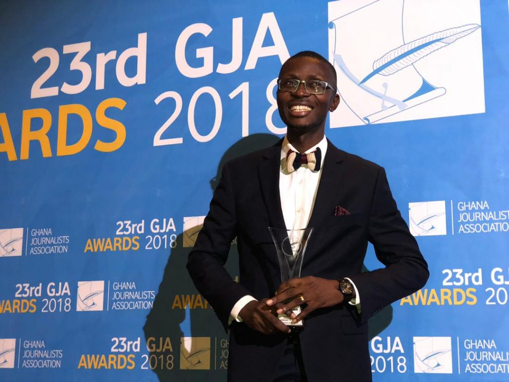 Citi Breakfast Show host Bernard Avle is Ghana's Journalist Of The Year 2018