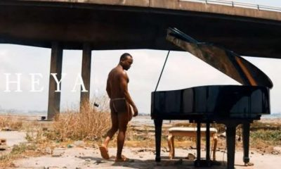 Brymo performs naked