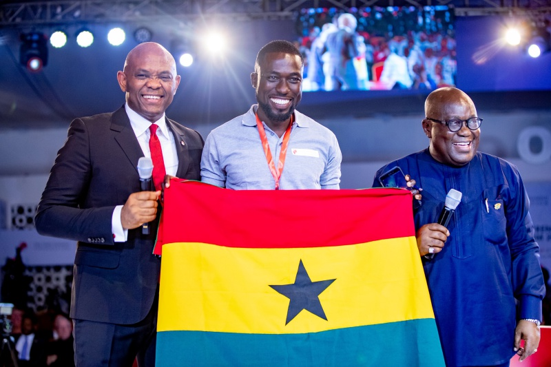 Nana Addo and others inspire Over 5,000 young African entrepreneurs at TEF Entrepreneurship Forum