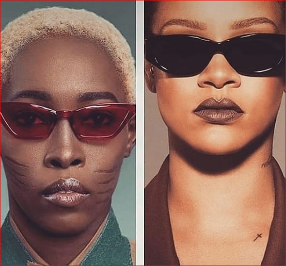 Nigerian model with tribal marks gets Rihanna's attention