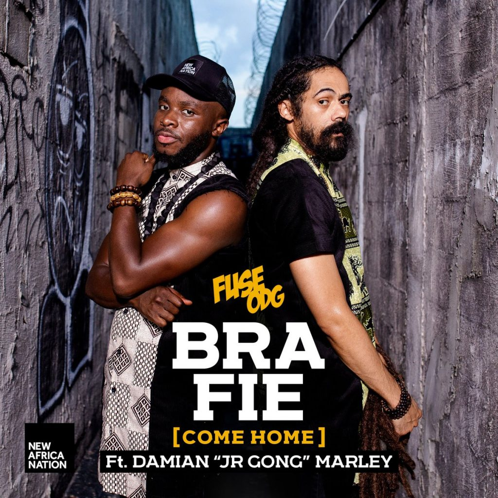 Fuse ODG's collaboration with Damian Jr Gong Marley to be released this week.