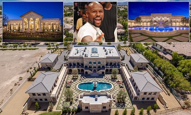Floyd Mayweather shows off new $10 million Mansion