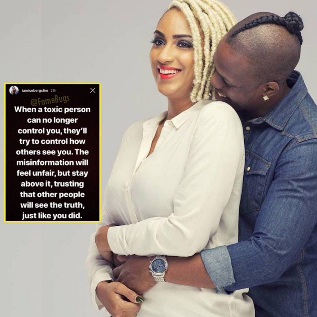 "Juliet Ibrahim was a ""toxic and controlling person""- Iceberg Slim"