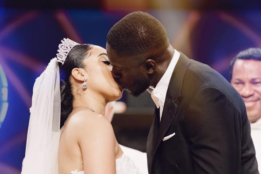 Pastor Chris's daughter shares photos from honeymoon with Ghanaian husband