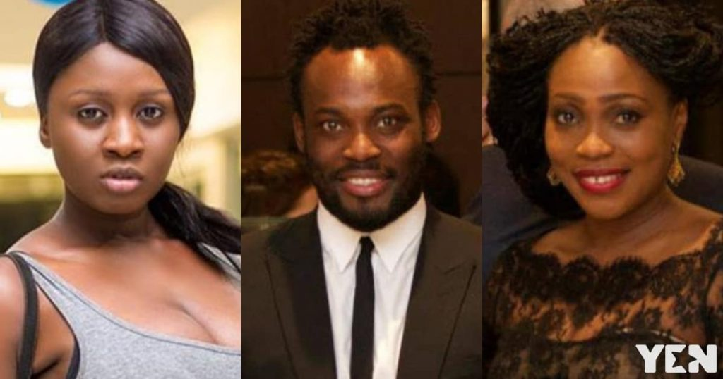 """Dumbest Wife Of The Year"" - Princess Shyngle mocks Essien's wife over divorce rumors"