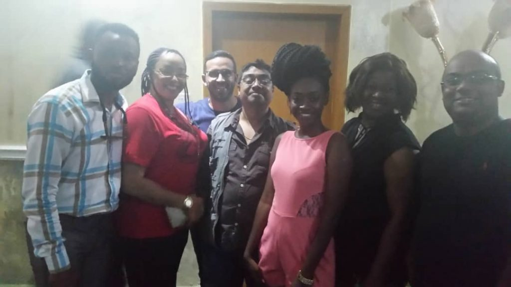 Helen Omaboe, Fred Amugi, Adomaa, others shoot 'Telenovela' in India
