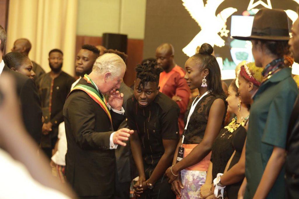 Ghanaian designer, Kwaku Bediako receives endorsement sfrom Prince Charles and other fashion royalty