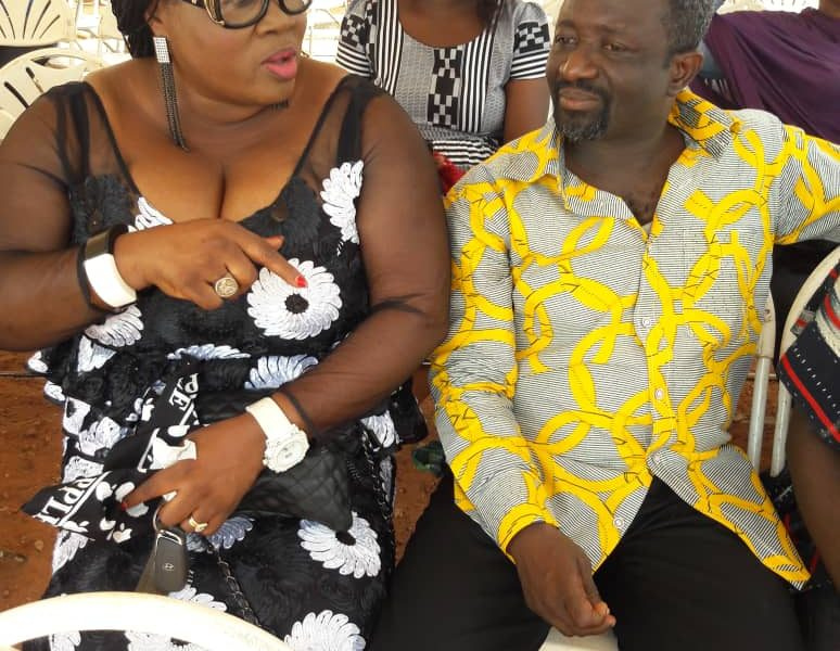 Photos from funeral service for murdered Kumawood star, bass Nurudeen 'Blinkz'