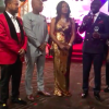 Radio host, Captain Smart proposes marriage to another woman during award ceremony in USA