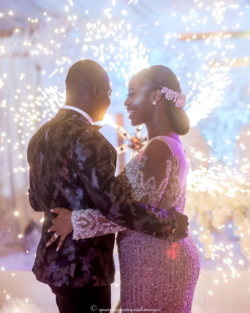 TV3 business anchor, Paa Kwesi Asare Paa weds Naa Adjeley