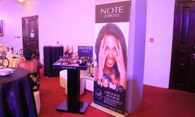 International makeup brand NOTE COSMETICS launched in Ghana