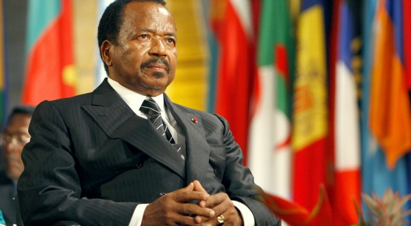 Cameroon's 85-year-old President Biya sworn in for seventh term
