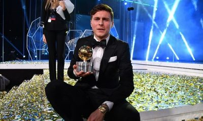 Manchester United defender, Victor Lindelof wins Swedish player of the year after