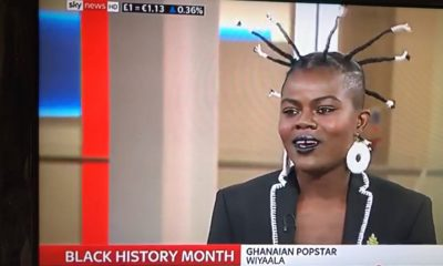 #GhanaToTheWorld: Wiyaala interviewed on UK's Sky News Live