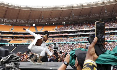 Usher wows South Africans with his Gwara Gwara dance moves
