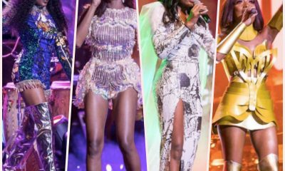 All of Efya's dress changes at Girl Talk 2018