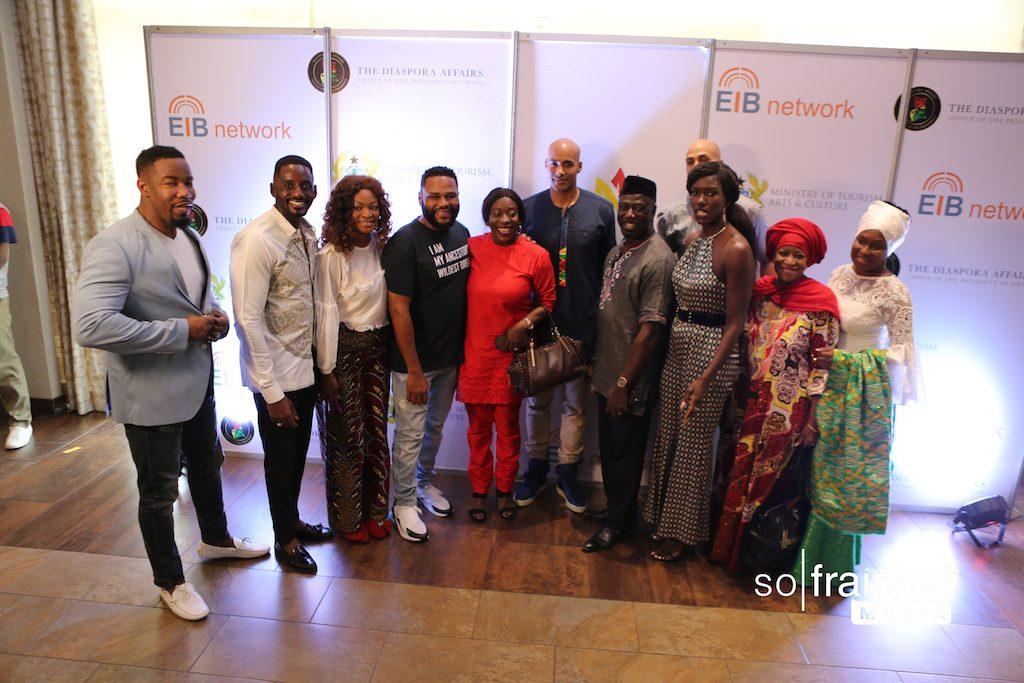 Michael Jai White, Ebro Darden, Noami Campbell, and more arrive in Ghana for Full Circle Festival