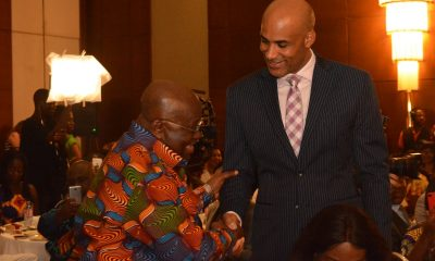 Nana Addo holds breakfast meeting with visiting American stars
