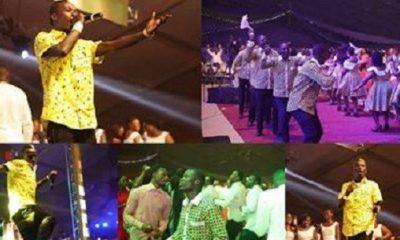 MTNCarol2018: Patapaa fights fan over chicken, Miss Ghana 2018 'awkward' moment, Kuami Eugene thrills audience