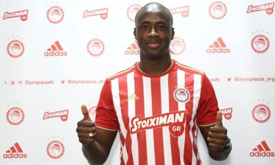 Yaya Toure's Olympiacos contract terminated after just three months