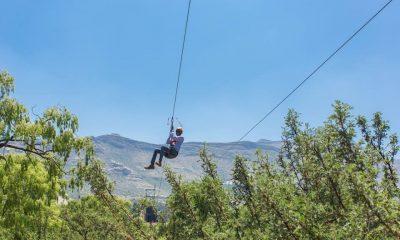 ziplining at clarens xtreme