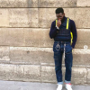 Kofi Siriboe gets trendy for Paris Fashion Week