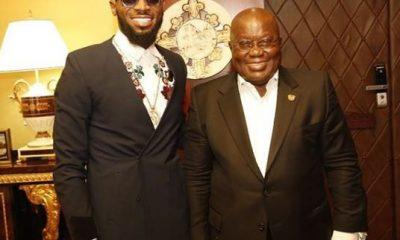 Photos: Dbanj meets H.E Nana Akufo Addo