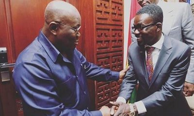 Why NAM 1 took a photo with Nana Addo