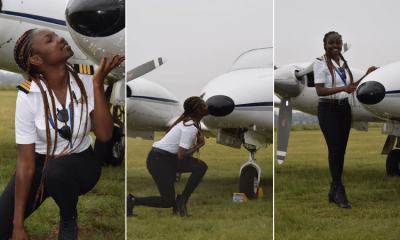 Meet Ghana's youngest female commercial pilot