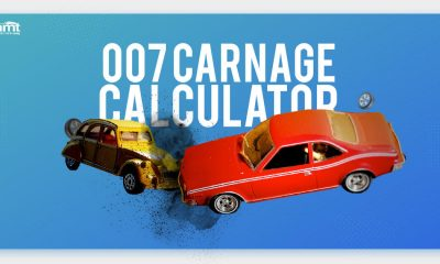 James Bond has caused £4,472,607 worth of vehicle damage