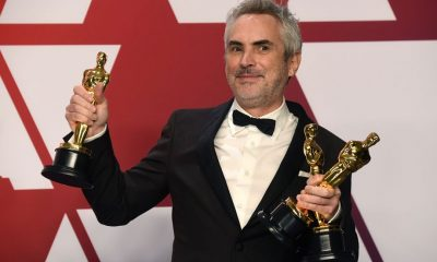 Alfonso Cuarón took home three awards at the Oscars for Roma. Frazer Harrison/Getty Images