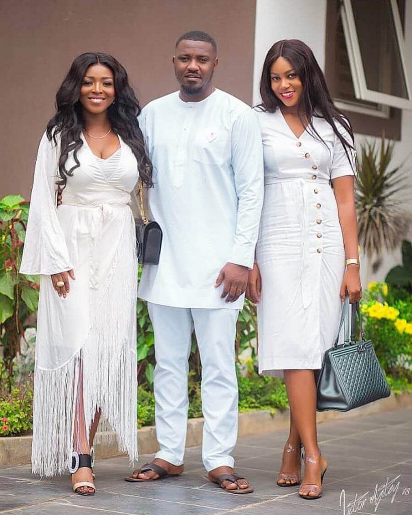 PHOTOS: John Dumelo Jnr's star-studded outdooring ceremony.