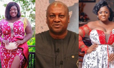 Watch: Mahama's 'daughter' Tracey Boakye celebrate his flagbearership win.