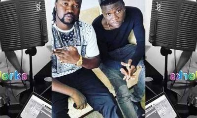Photos: Stonebwoy reunites with Beatz Dakay.