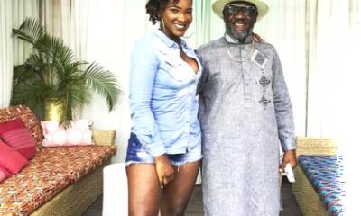 ebony and dad
