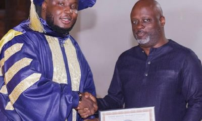 Photos: Music producer, Kaywa ordained minister of the gospel.