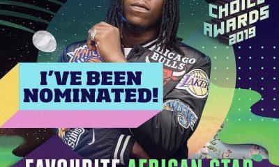 Stonebwoy nominated for Favourite African Star category alongside Adesua Etomi-Wellington, IK Osakioduwa (Nigeria), Sauti Sol (Kenya)